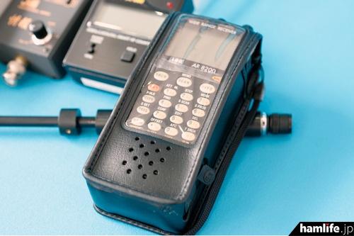 広帯域受信機(ハンディタイプ)「AR8200Mark3」。ハンディ機初の530kHz~3000MHzをオールモードでフルカバー
