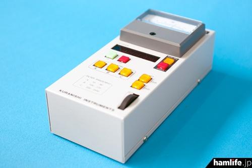 大型メーター搭載、計測周波数をデジタル表示できる電界強度計「LA-310」