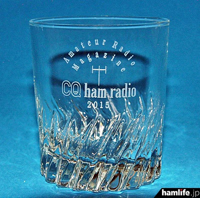 ハムフェア2015会場で限定100個販売するオリジナルグラス