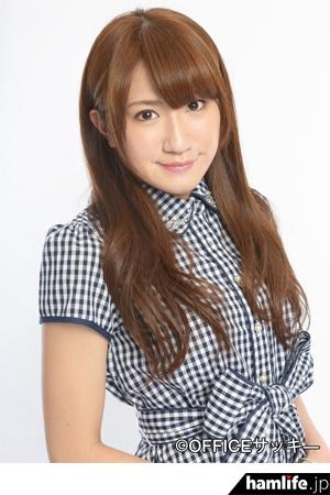女子プロレスラーで気象予報士のJI1KEB 春日萌花(所属事務所提供写真)