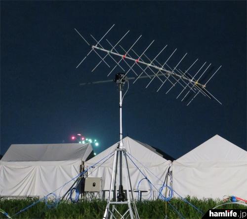 ISSとの交信に使用したクロス八木