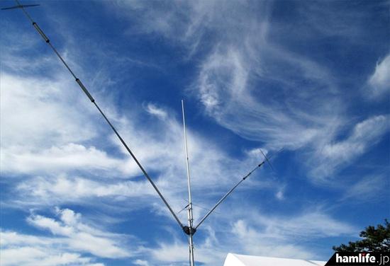 8N2AIのアンテナ(提供写真)