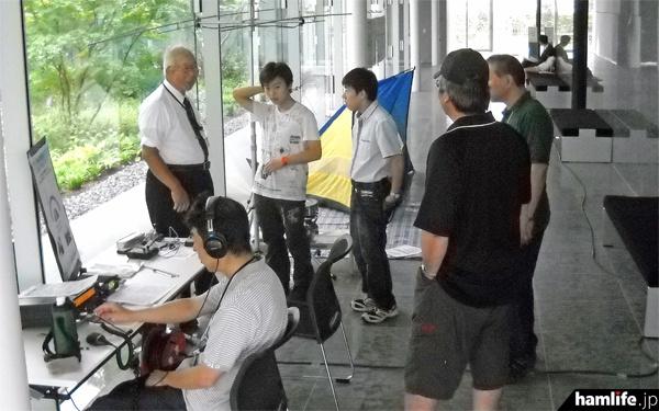 アンリツ厚木アマチュア無線クラブ(JE1YEM)によるデモ運用を実施