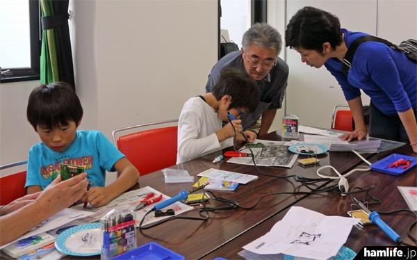 JARL宮城県支部のメンバーらが製作をサポート