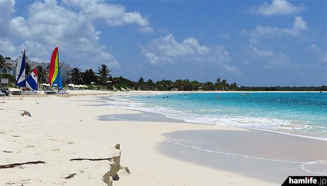 アンギラ島の風景(アンギラ公式観光サイト)