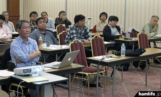 「PARTECH 2015 京都ミーティング」の会場風景。当日は北は札幌、南は長崎から総勢23名が集合した