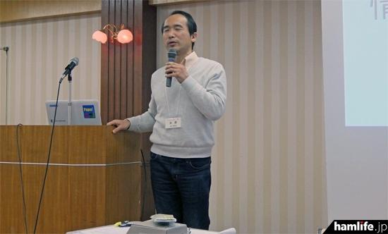 「長距離無線式センサとアプリケーションシステム」(JE1WAZ)