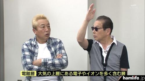 タモリもゲストに解説を加える(テレビ朝日「タモリ倶楽部」より)