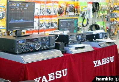 無線ショップで開催される八重洲無線のイベント例