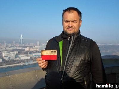 P5/3Z9DXをデモンストレーション運用した、ポーランドのDXer、Dom Grzyb氏(ARRL NEWSより)