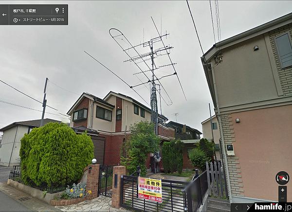 該当の中古物件と思われるGoogleストリートビュー画像(2015年5月撮影)