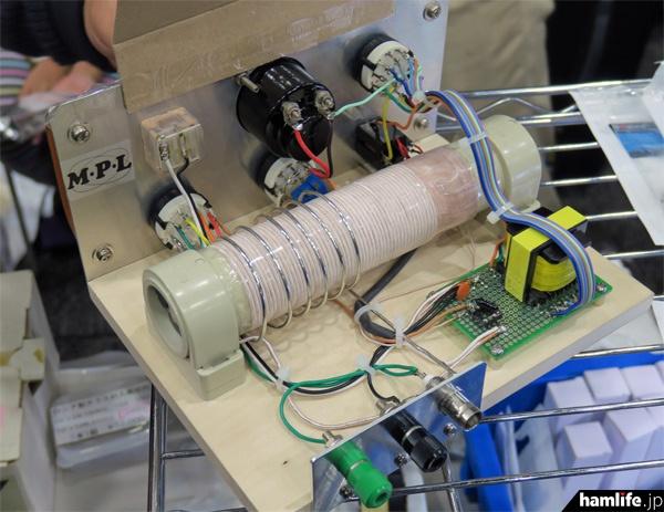 中波帯ゲルマニウムラジオの内部