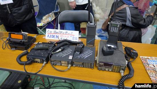 日本圧電気の28MHz帯FMトランシーバーのラインアップ(オール九州NET)