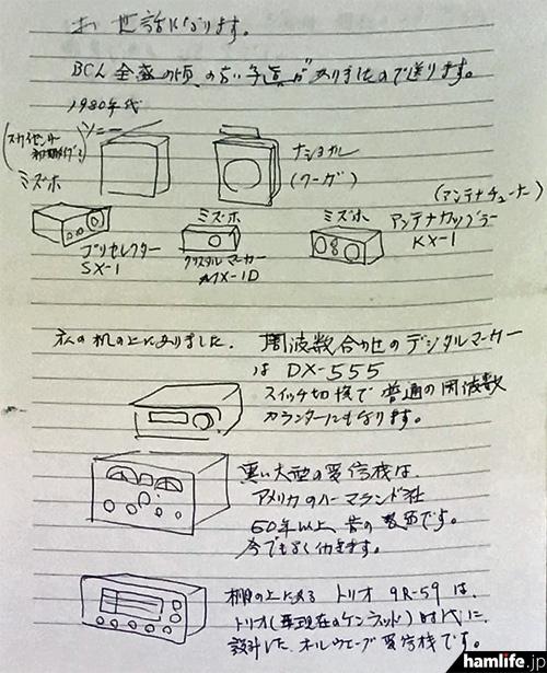 写真と手書きによる説明も添付されている(写真提供:三才ブックス)