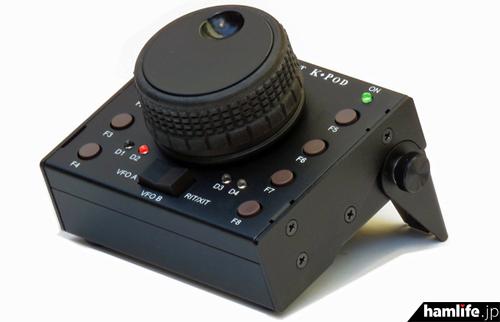 エレクラフトの新製品、K3/K3S用の外部コントローラ「K・Pod」。日本ではエレクトロデザイン株式会社が輸入販売
