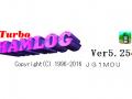 4月23日に公開されたTurbo HAMLOG Ver.5.25c