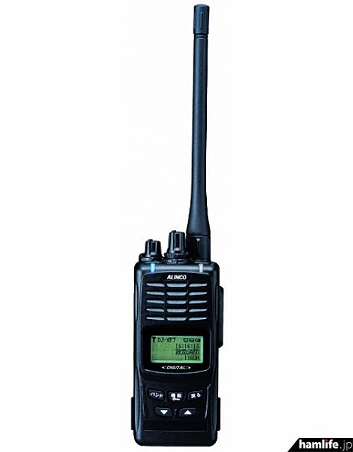 ヤフオクに出品されたアルインコ製のデジタル消防救急無線受令機「DJ-XF7」