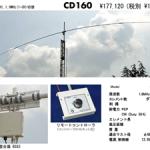 <「714シリーズ」もモデルチェンジ>クリエート・デザイン、1.8/1.9MHz帯の「CD160」と50MHz帯の「CL609」を新発売!!