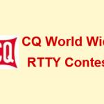 日本時間の9月29日(土)9時から48時間、「The 2018 CQ WW DX RTTY Contest」を開催