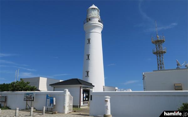 船舶気象通報局最後の日を迎えた、千葉県銚子市の犬吠埼灯台