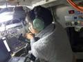 ISSから交信を行う大西卓哉宇宙飛行士(同氏のgoogle+より)