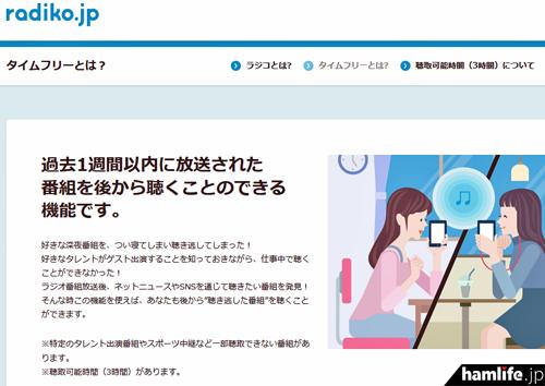 radiko.jpの告知より