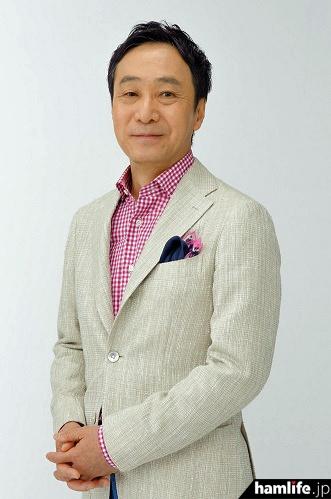 NHKの柳澤秀夫解説主幹(JA7JJN)