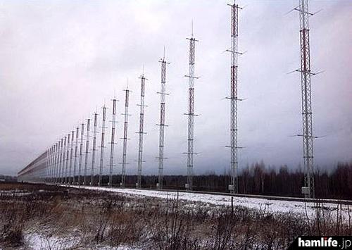 ロシアのOTHレーダーサイト(ARRL NEWSより)