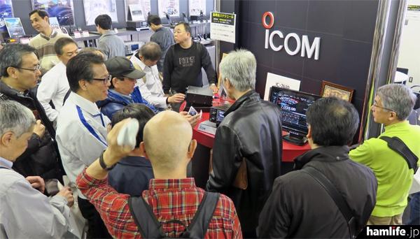 「IC-7610展示&プレ説明会 in アイコム東京ショールーム」の模様