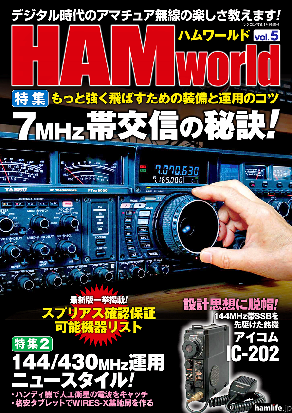 「HAM world」Vol.5の表紙