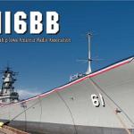 <真珠湾攻撃75周年を記念>12月7日(水)16時から8時間(UTC)、「戦艦アイオワ」の船上から「NI6BB」が特別運用