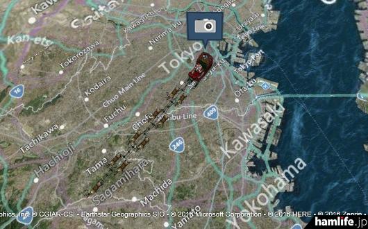 オーストラリアから北上して23時過ぎに札幌に上陸。日本各地を駆け巡るサンタさん(NORADの「サンタクロース追跡サイト」)