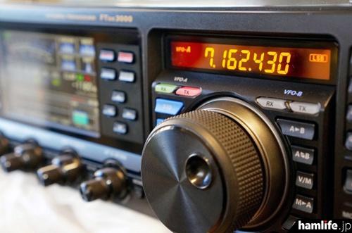FTDX3000D アンバーカラー液晶 CQオームスペシャルバージョン