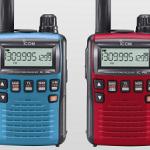 <「メタリックレッド」と「メタリックブルー」>アイコム、広帯域ハンディレシーバー「IC-R6」の新色2カラーを発表