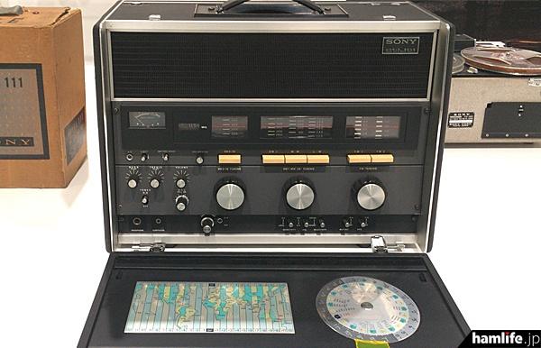 「世界最高級、ラジオの王様」がキャッチフレーズのCRF-230B(1971年)