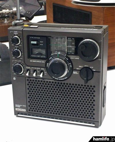 BCLラジオの定番モデル、ICF-5900(1975年)