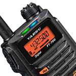 【追記あり】<発売開始は4月予定>八重洲無線、C4FMデジタル/アナログFM対応の144/430MHz帯ハンディ機「FT-70D」を発表!!