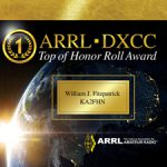 ARRL、DXCCの「オーナーロール(Honor Roll)」と「No.1オーナーロール(Top of Honor Roll)」表彰楯のデザインを一新!!