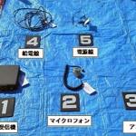 東海総合通信局、静岡県藤枝市・国道1号線において不法無線局(アマチュア無線、不法市民無線)を開設した3名を摘発