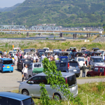 <掘り出し物探しやアイボールQSOで大盛況!>4月22日(日)開催、「第16回 松田町ジャンク会」写真リポート