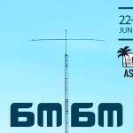 <IOTA AS-105から6月22日~23日に運用>今年も韓国から50MHz帯の特別局「6M6M」がQRV!!
