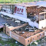 <デイトン・ハムベンションの元会場>米国オハイオ州の「ハラ・アリーナ」が竜巻で深刻な被害