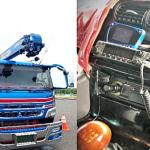 北海道総合通信局、標津郡中標津町において免許を受けず大型トラックにアマチュア無線機を設置していた男を摘発
