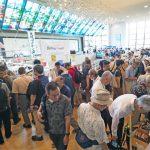 【KANHAM2019】<会場周辺は蒸し暑さMAX!!>「第24回 関西アマチュア無線フェスティバル」初日の写真リポート