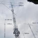 <借地権(茨城県)約350坪/実測は約1,100坪>ヤフオク、クランクアップタワー&オペレーション室に小屋2棟…etc.「無線サイト」出品