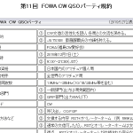 <CW交信の活性化と交流が目的>福島CW愛好会(FCWA)、12月7日(土)に「第11回 FCWA CW QSOパーティー」開催