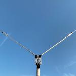 <工具なしで取付可能、軽量コンパクトタイプ>第一電波工業、18MHz帯用短縮V型ダイポールアンテナ「HFV16」を新発売