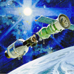 <期間限定! 日本近くを通過するパスは…>モスクワ航空研究所/国立研究大学のSSTV活動、国際宇宙ステーションから145.80MHzでSSTV画像を送信
