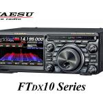 <「PRESET」の追加、ウォーターフォール動作表示の変更など6項目>八重洲無線、FTDX10シリーズの新ファームウェアを公開