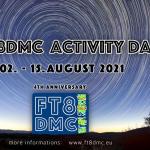 <サフィックスに「FTDMC」や「FTDM」が付く>デジタル文字通信「FT8モード」の4周年を祝う記念局、各国から8月2日~15日にオンエアー